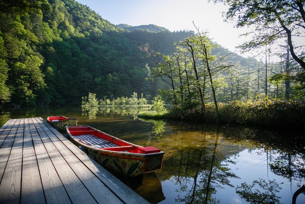 上高地観光散策エリア:明神池