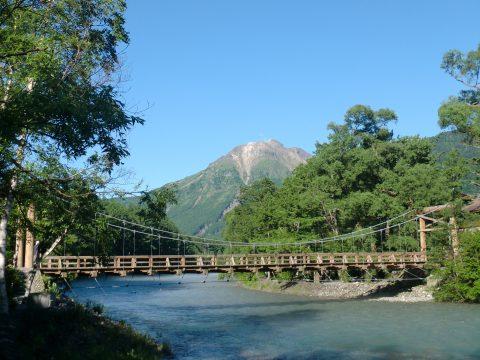 無人の河童橋
