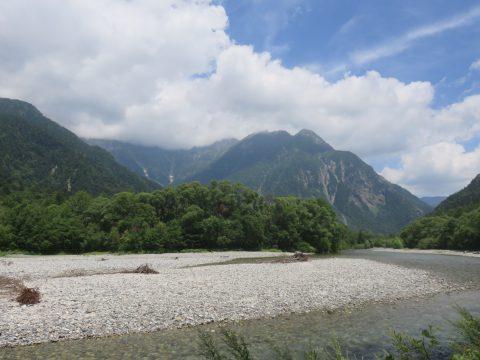 8月の穂高連峰