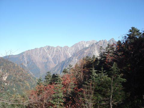 徳本峠からの風景