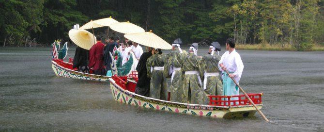 雨の御船祭り