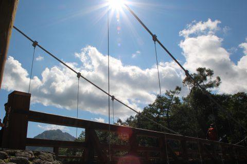 河童橋と焼岳