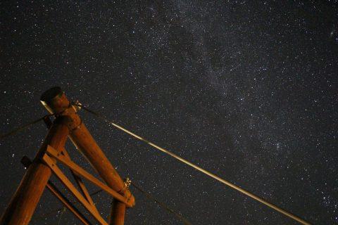 河童橋の星空