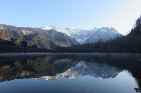 【開山まであと6日】残雪の遊歩道