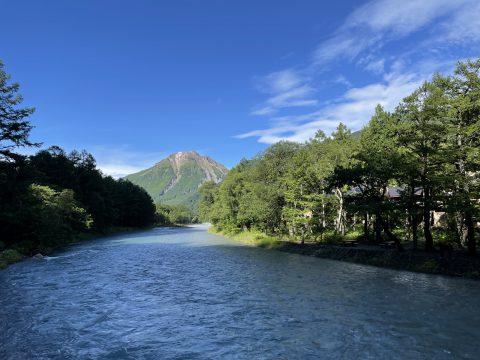 上高地を代表する山の一つ!日本百名山にも含まれる焼岳