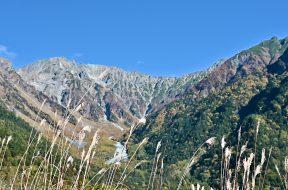 上高地、秋の多面性